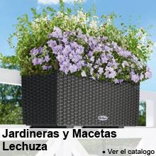 Jardineras - Macetas para barandillas Lechuza