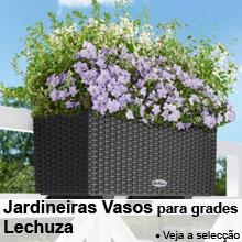 Jardineiras - Vasos para grades da varanda Lechuza