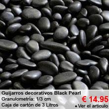 Guijarros Decorativos - Black Pearl - 3L - 1/3cm- 14.95 €