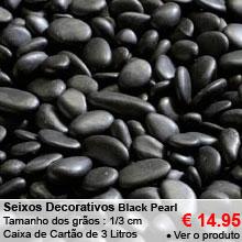 Seixos Decorativos - Black Pearl - 3L - 1/3cm- 14.95 €