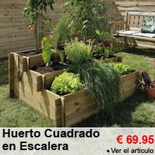Huerto Cuadrado en Escalera -25%