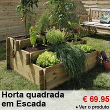 Horta quadrada em Escada -25%