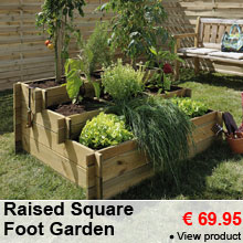 Raised Square Foot Garden -25%