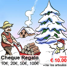 Cheque Regalo : 10, 20, 50, 100 €