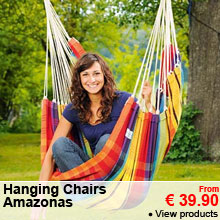 Hanging Chairs - Amazonas - From 39.90 €