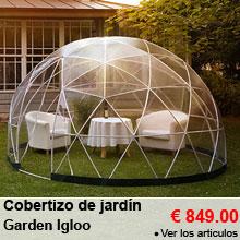 Cobertizo de jardín polivalente 10m² Garden Igloo - 849.00 €