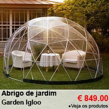 Abrigo de jardim polivalente - 10m² - Garden Igloo - 849.00 €
