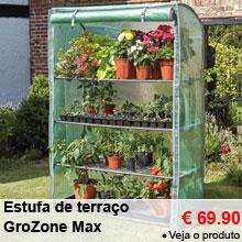 Estufa de terraço GroZone Max - 69.90 €