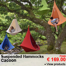 Suspended Hammock - Cacoon - From 199.00 €