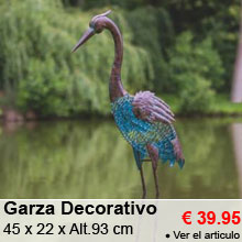 Animal Decorativo - Garza - 39.95 €