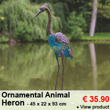 Ornamental Animal - Heron - 39.95 €