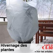 Hivernage des plantes - a partir de 5.50 €