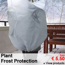 Plant Frost Protection - from 5.50 €