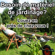 Besoin de mat�riel de jardinage ? Louez-en proche de chez vous !