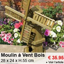 Moulin � Vent en Bois - 35.95 €