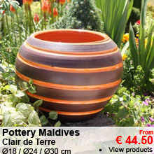 Pottery Maldives - Clair de Terre - from 44.50 €