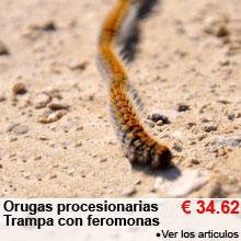 Orugas procesionarias - Trampa con feromonas - 34.62 €