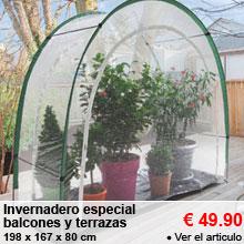 Invernadero especial balcones y terrazas - 49.90 €