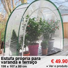 Estufa pr�pria para varanda e terra�o - 49.90 €