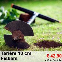Tarière 10cm + 2 lames - 42.90 €