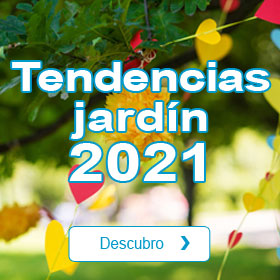 Tendencias jardín 2021