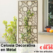 Celosía Decorativa en Metal - 60x150cm - a partir de 55.95 €