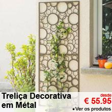 Treliça Decorativa em Metal - 60x150cm - desde 55.95 €