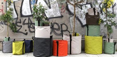 Jardinières et pots en géotextile - Bacsac