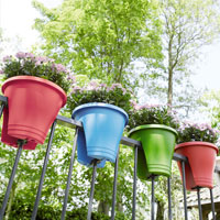Pots and Planters for Railings