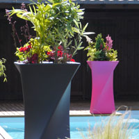 Jardineras y macetas de diseño