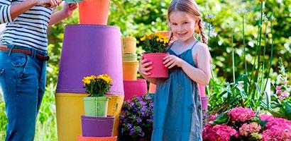 Jardineras y macetas de espuma - Suki