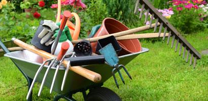 Herramientas básicas para el jardín