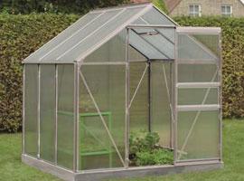 Invernaderos de jardin de policarbonato