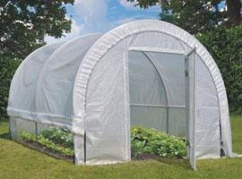 Invernaderos de jardin, Túneles de cultivo