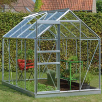 Serres de jardin en verre