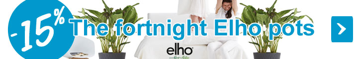 The fortnight Elho pots at -15% ! from 2018.05.15 to 2018.05.30