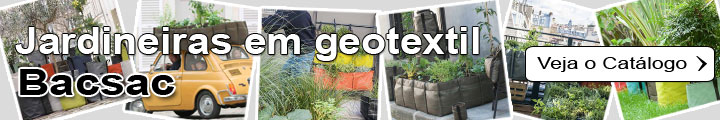 Jardineiras e vasos em geotextil - Bacsac