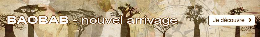 Nouvel arrivage de baobab - je découvre !