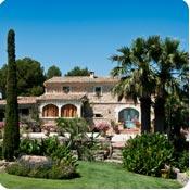 Jardim mediterrânico