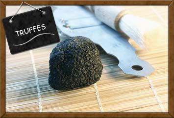 Truffes et produits à base de truffes