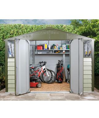 Abri de jardin en acier vente abri de jardin en acier for Abri de jardin acier