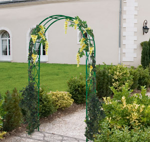 Recherche mat riel de jardin - Arche metallique jardin ...