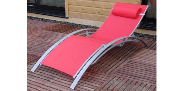 Bain de soleil design rouge vente bain de soleil design rouge - Bain de soleil rouge ...