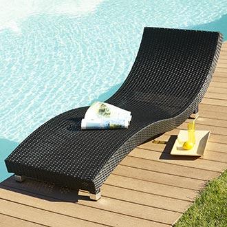 Bain de soleil 1 place en r sine tress e ex vente bain de soleil 1 place en - Bain de soleil vague resine tressee ...