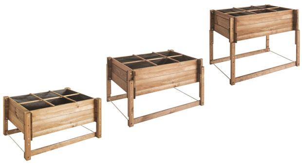 carr potager r glable en hauteur burger vente carr. Black Bedroom Furniture Sets. Home Design Ideas