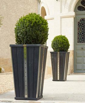 Jardiniere bois design