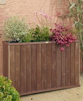 Jardini re bois design rectangulaire haute vente for Jardiniere rectangulaire haute