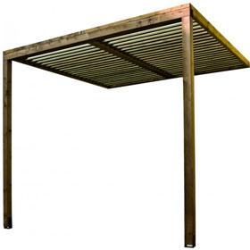 ex pergola bois adoss e lumilam burger vente ex. Black Bedroom Furniture Sets. Home Design Ideas