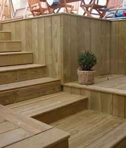 Lame terrasse pin trait avec noeuds vente lame - Lame de terrasse en pin ...