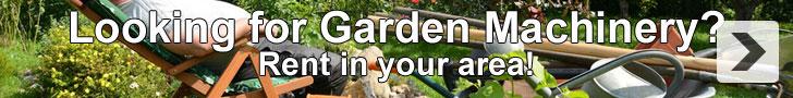 Garden Machinery Rental
